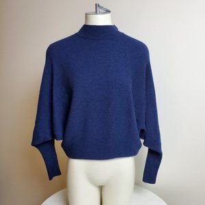 Philosophy Blue Batwing Sweater Small